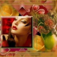 С цветами женщину сравните. Она прекрасна как букет... :: Nikolay Monahov