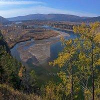 Панорама осенней реки :: Анатолий Иргл