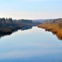 Осень, утро, река. :: Ич Ни