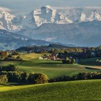 Autumn day in the Swiss Alps :: Dmitry Ozersky