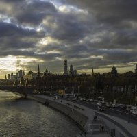 Закат с видом на Кремль. :: Александра