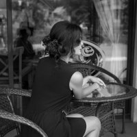 В кафе.. :: Александр Мясников