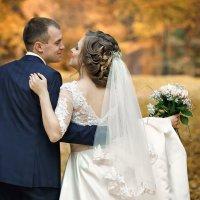 свадебная фотопрогулка по осеннему парку :: Вячеслав Шах-Гусейнов