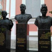 Памятник семье русского царя Николая 2 в Санкт-Петербурге. :: Светлана Калмыкова