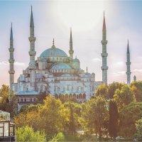 Голубая мечеть в Стамбуле :: Ирина Лепнёва