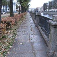 Осень в Петербурге.  Набережная Крюкова канала :: Маера Урусова