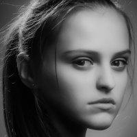 Studio portrait. Photo model. :: krivitskiy Кривицкий