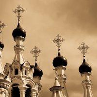 Купола Храма Рождества Пресвятой Богородицы :: Mari_L