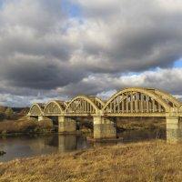Ж/Д мост через Клязьму :: Сергей Цветков