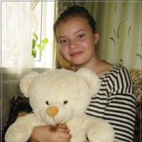 Настя и Медведь :: muh5257