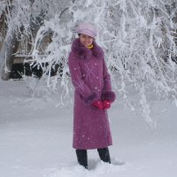 первый снег :: vladimir polovnikov