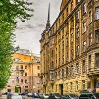 Питер Архитектура Петроградской стороны Питерские улочки :: Юрий Плеханов