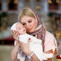 Таинство крещения Макара :: Ангелина Хасанова