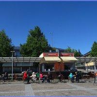 Кафе на берегу озера Сайма :: Вера