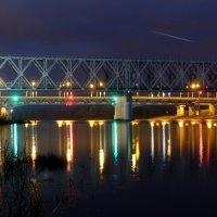 вечерний мост через Сож :: Александр Прокудин