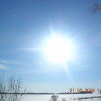 зимнее солнце :: Сергей Антипин