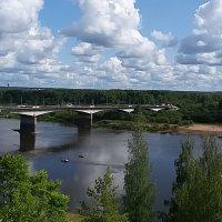 Летняя прогулка по набережной реки Вятка :: elena