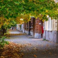 Осень на улице нашей... :: Сергей Плишенко
