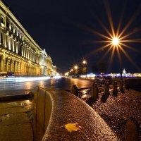 Ночь на Дворцовой набережной... :: Витас Бенета