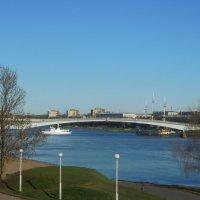 Река Волхов и Горбатый мост. :: Татьяна