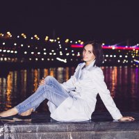Ночная набережная :: Кристина Пролыгина