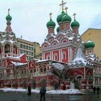 Церковь Святой Живоначальной Троицы в Никитниках :: Анастасия Смирнова