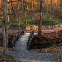 Осенний парк... :: Сергей