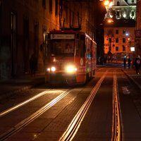 Вечерний трамвай :: Сергей Форос