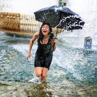 мокрая девочка :: Deshmidt