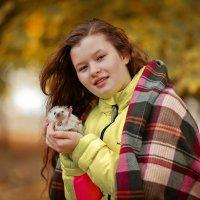 Мои очаровательные Марго и приветливый не колючка :) :: Кристина Беляева