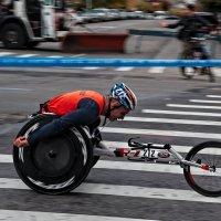 Нью-Йоркский марафон 2017. Паралимпийцы 3 :: Олег Чемоданов