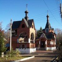 Церковь Всех Святых на кладбище Марьина роща :: Николай O.D.