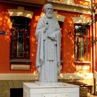 Памятник Сергию Радонежскому в Кисловодске :: Нина Бутко