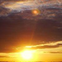 Закат и....планета Нибиру :: Валентина Пирогова