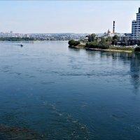 Река Ангара в Иркутске :: Leonid Rutov