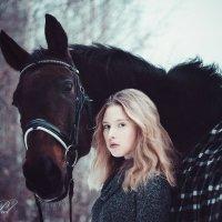 Девочка и ее конь Виллиаф :: Кристина Пролыгина