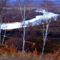 Речка замерзает :: Милла Корн