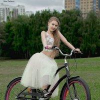 Велосипедная прогулка. :: Сергей Гутерман