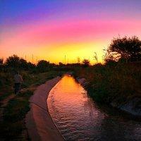 Dawn in the village :: Ongdassyn Akzhol