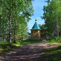 Часовня  в  лесу :: Геннадий С.