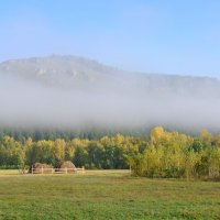 покрывало  туман :: Владимир Коваленко