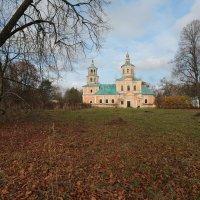 Церковь Церковь Иконы Божией Матери Владимирская в Чукавине :: ninell nikitina