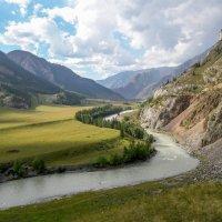 река Катунь :: Сергей Кордумов