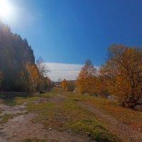 Солнце над Введенским утёсом :: Анатолий Иргл