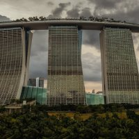Вечерний Marina Bay Sands...Сингапур! :: Александр Вивчарик