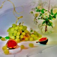 Инжир и виноград :: Наталия Лыкова