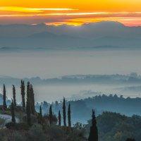 Тоскана, Италия, утро :: Atuan M