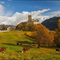 Замок в Альпах. :: Светлана Риццо