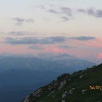 закат на плато Лагонаки :: Вероника