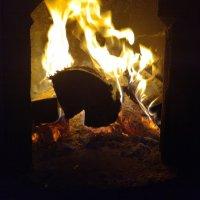 Огонь в печи :: BoxerMak Mak